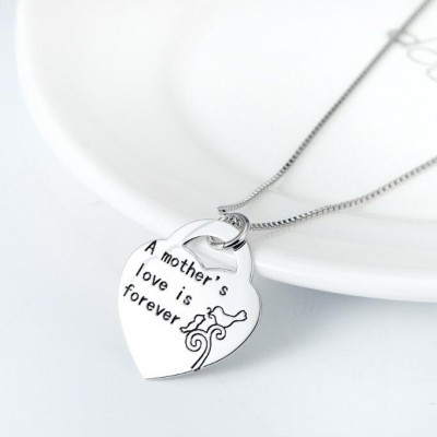 Maternal Amore 925 Sterling Collana d'argento