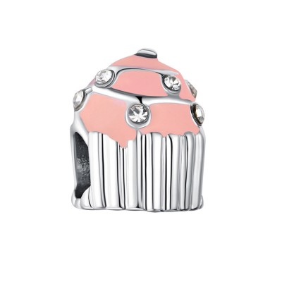 Cupcake Fascino Sterling Argento