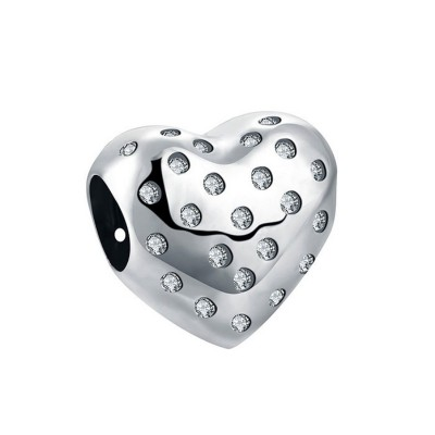 Amorely Cuore Fascino Sterling Argento