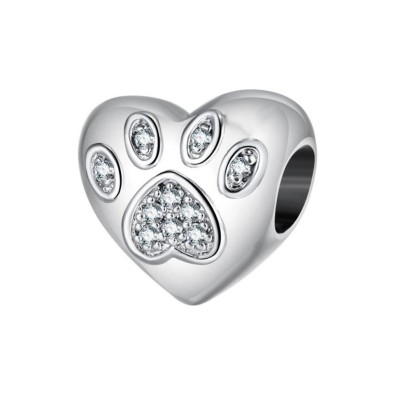 Paw Fascino Cuore Sterling Argento