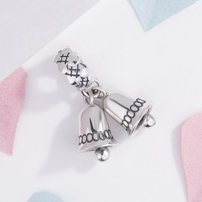 Natale Bell Charm Argento sterling