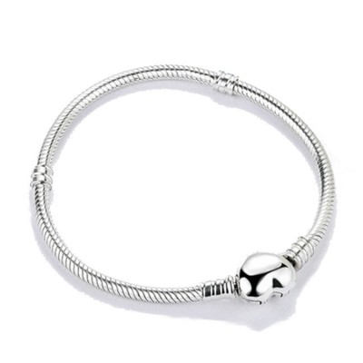 Cuore Classico Bracelet Sterling Argento